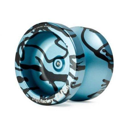 YoYo YoYoFactory DV888 Splash - Aqua/Black